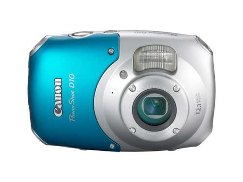 Best-Waterproof-Digital-Camera-Canon-Powershot-D10