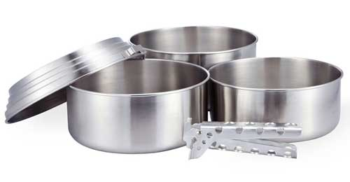 Camping Cooking Equipment Solo Stove Pot Set