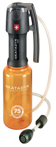 The Katadyn Vario Water Filter is a highly-rated pump filter.