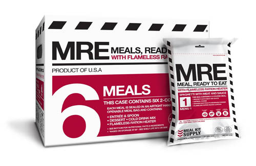 MRE - Backpacking Food