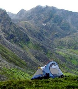 North Face Tadpole Backpacking Tent