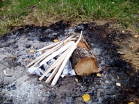 Smart Camp Fire Starting