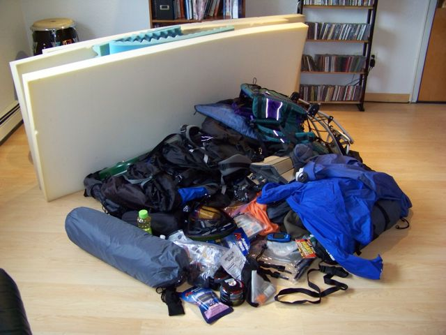 Tips For Camping Equipment Storage